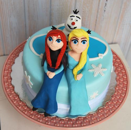 Bolo-Princesas-e-Frozen