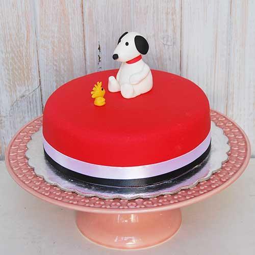 Bolo-Snoopy