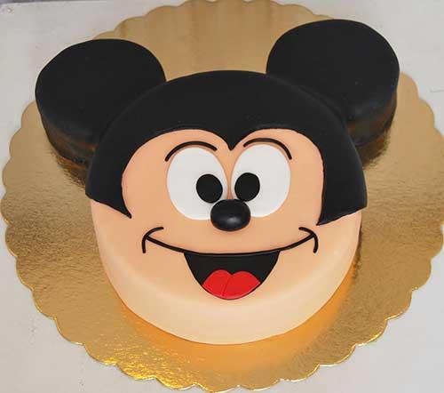 Bolo-cara-Mickey