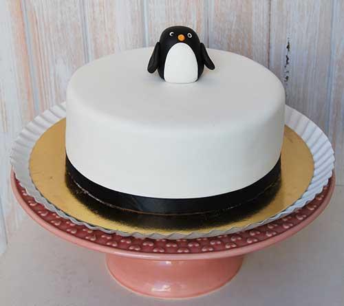 Bolo-pinguim