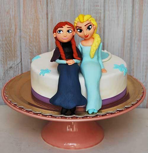 Bolo-princesas-Frozen
