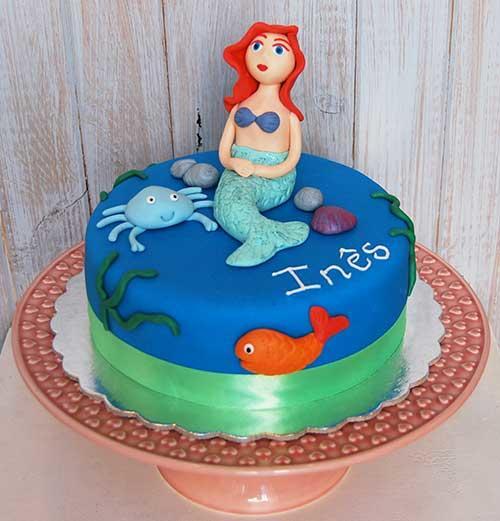 Bolo-sereia-Ariel