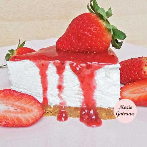 Cheesecake-Morangos