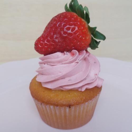 1 cupcake morango